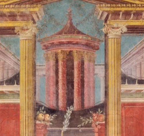 Arte Classica Pompei Secondo Stile