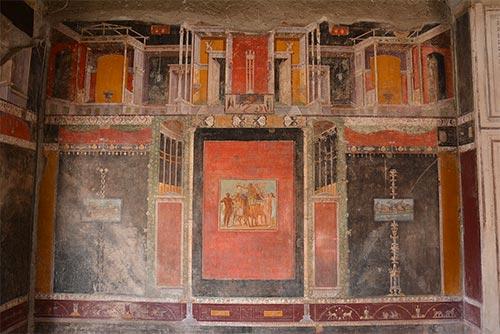 Arte Classica Pompei Terzo Stile