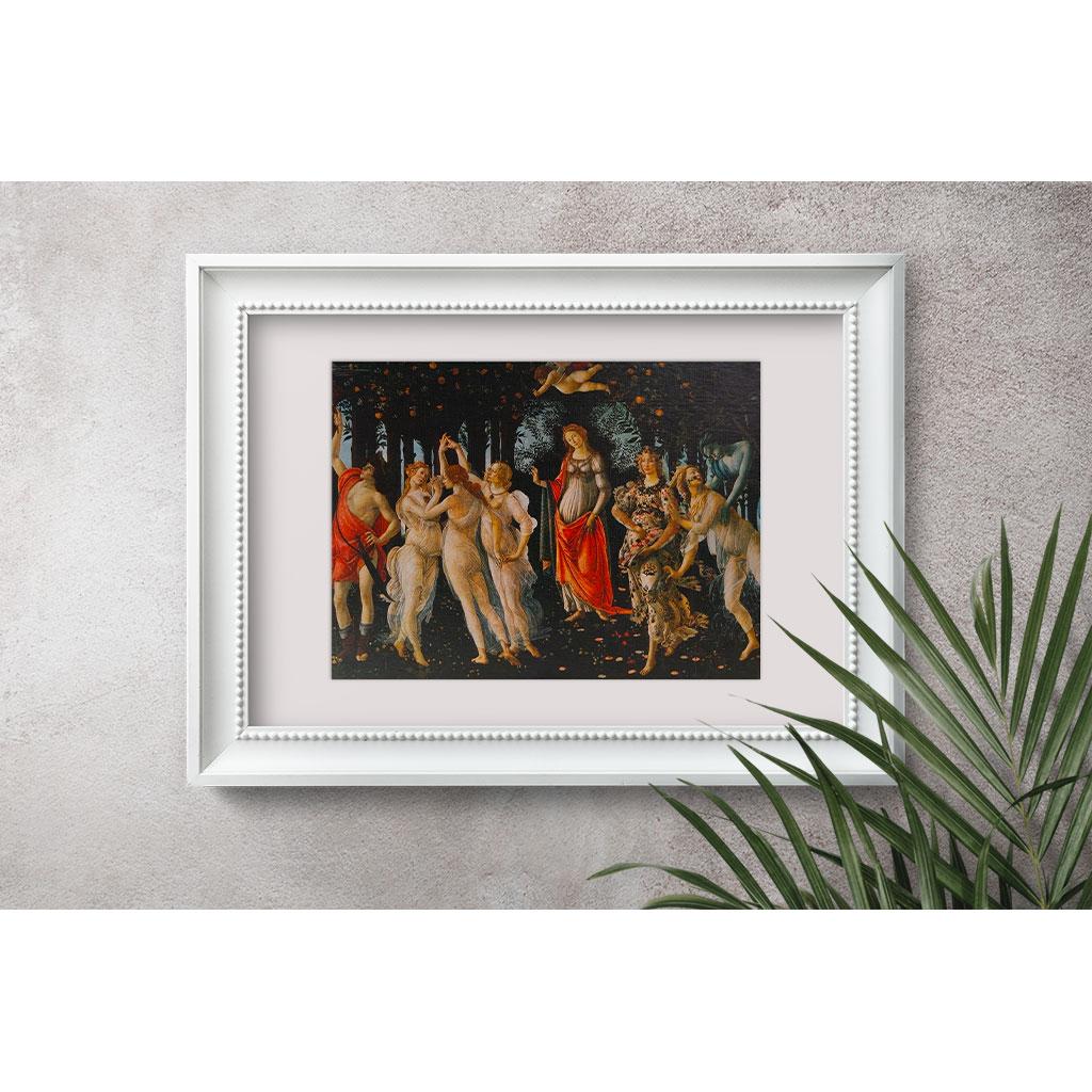 La Primavera Botticelli Cornice