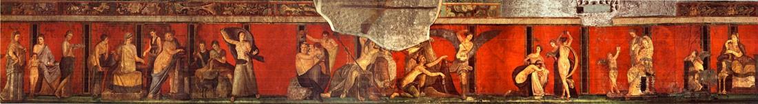 Pompei Affresco Intero