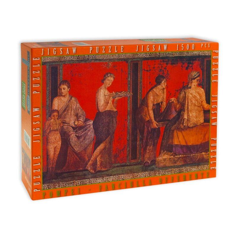 Puzzle Fanciulla Offerte Pompei Scatola Fronte