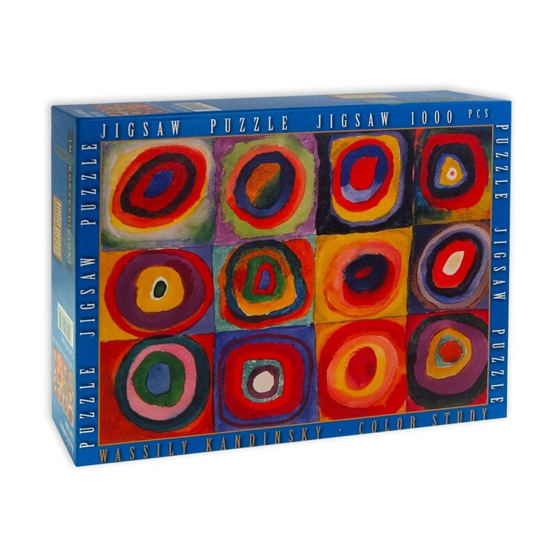 Puzzle Kandinsky Studio Del Colore Scatola Fronte