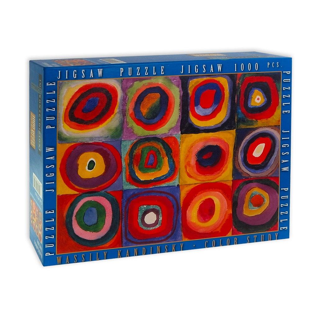 Puzzle Kandinsky  – Studio del colore