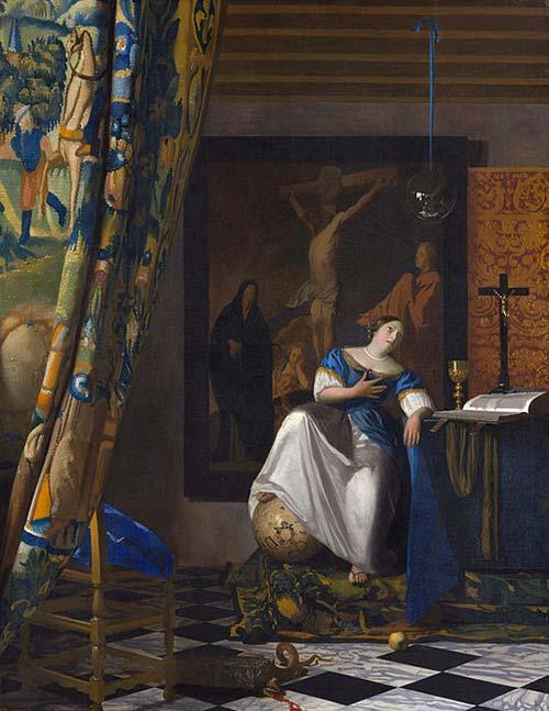 Allegoria Della Fede Vermeer