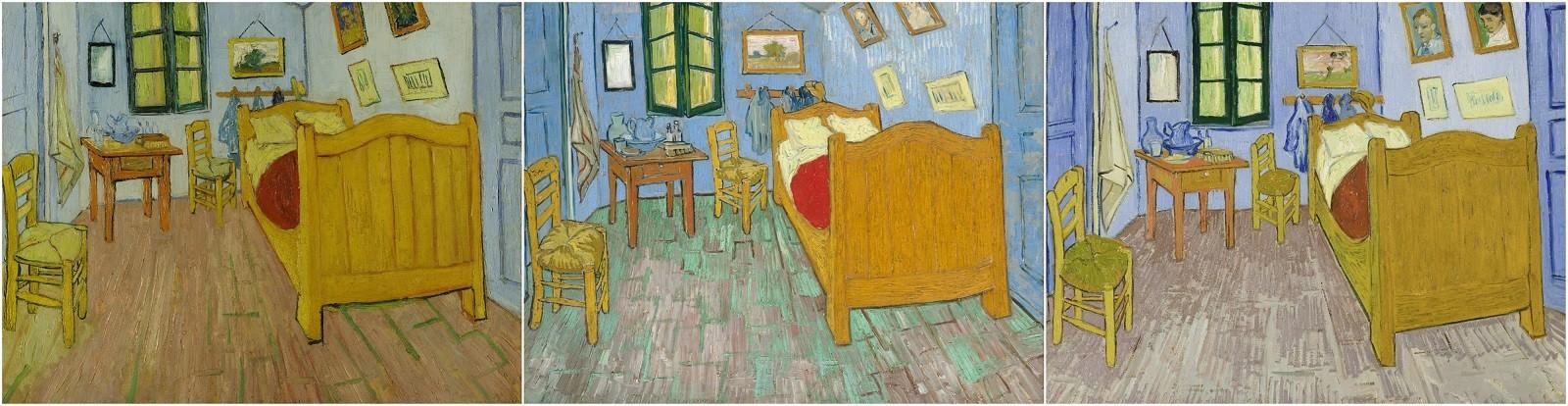 Camera Da Letto Van Gogh Amsterdam Parigi Chicago