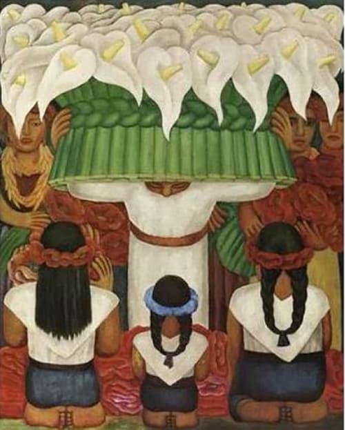 Diego Rivera Flower Festival Puzzle.it