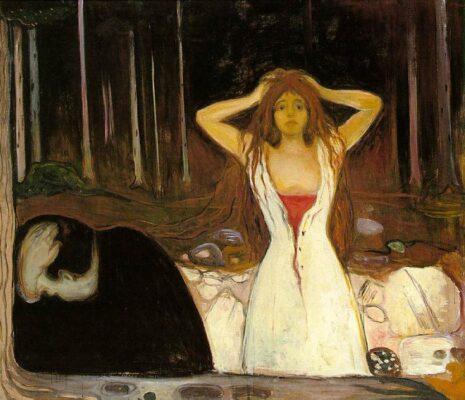 Edvard Munch Ceneri