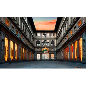 Gli Uffizi, Firenze