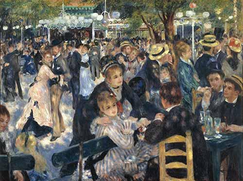 Moulin De La Galette Renoir