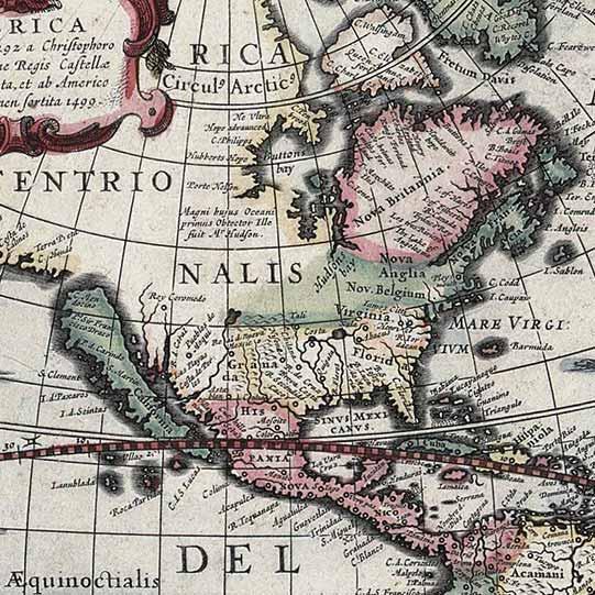 Nord America Hondius