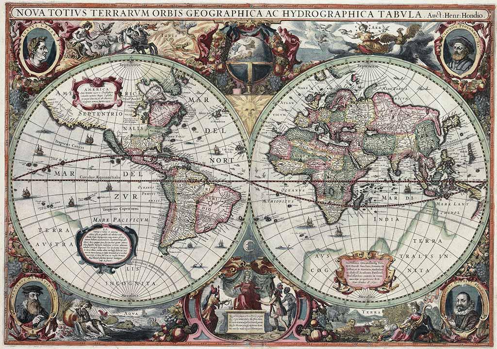Nova Totius Terrarum Orbis Hendrik Hondius