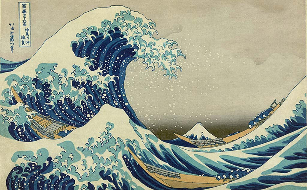 Onda Hokusai Puzzle
