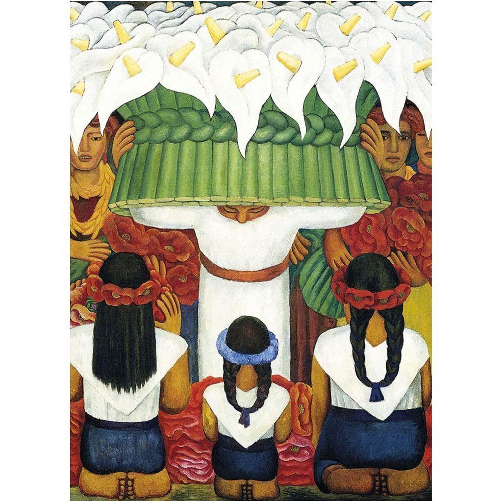 Puzzle Diego Rivera Flower Festival