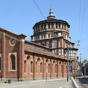 Santuario Di Santa Maria Delle Grazie A Milano