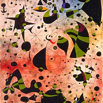 The Passage Of The Divine Bird Mirò