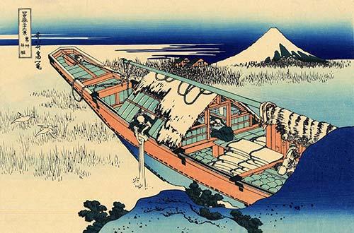 Ushibori Hitachi Hokusai