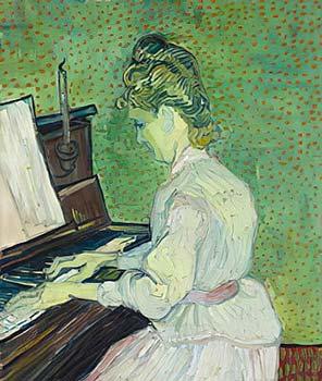Vincent Van Gogh Marguerite Gachet