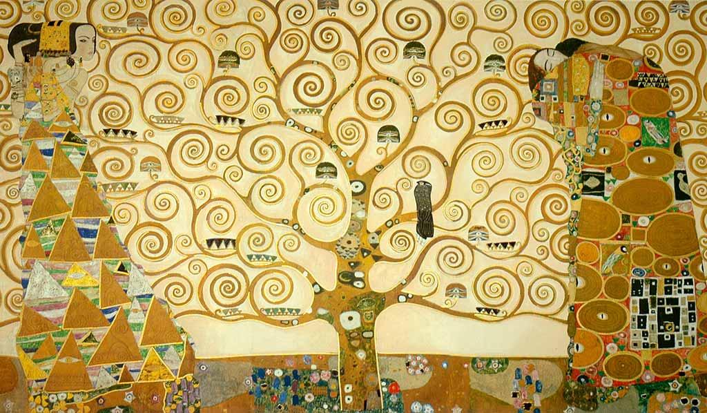 Abbraccio Di Klimt Fregio Palazzo Stoclet