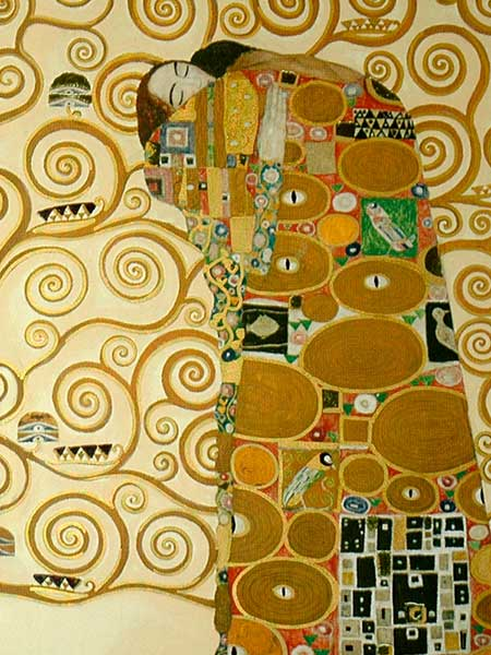 Abbraccio Di Klimt Puzzle 1000 Pezzi