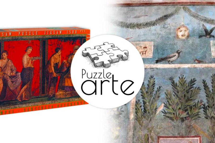 Affreschi pompeiani: festeggiamo una nuova apertura con un puzzle