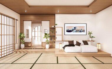 Arredare in stile giapponese con un puzzle