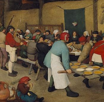 Bruegel Il Vecchio Banchetto Nuziale