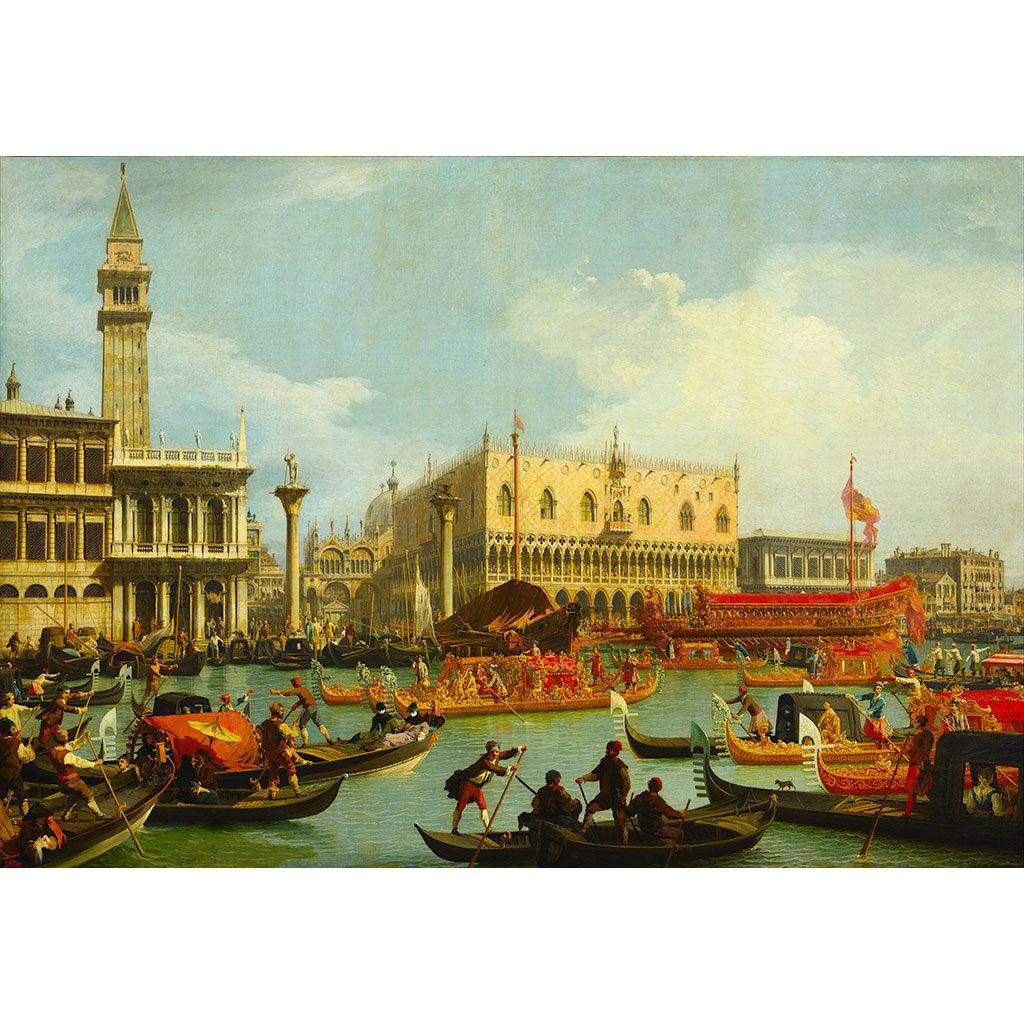 Canaletto Piazza San Marco Bucintoro Puzzle Opera