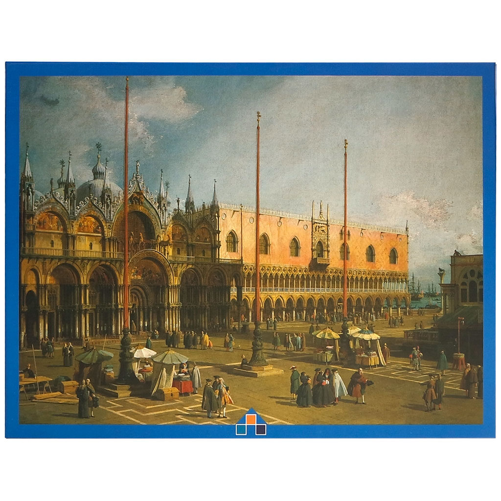 Canaletto Piazza San Marco Puzzle Fronte