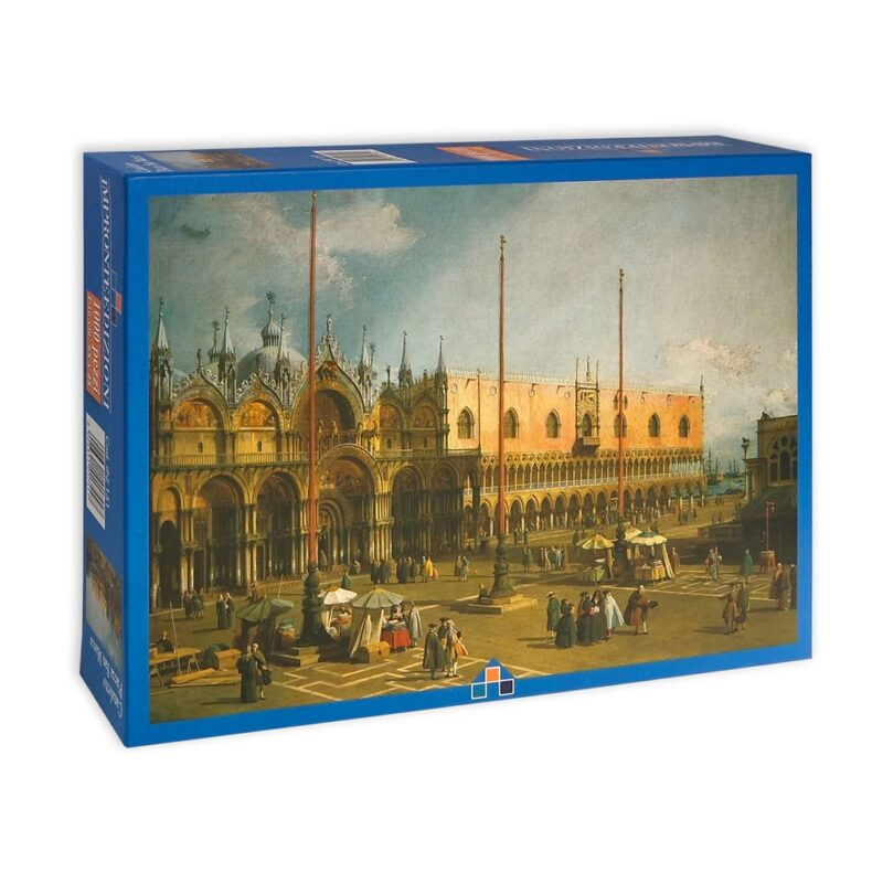 Canaletto Piazza San Marco Puzzle Scatola Fronte