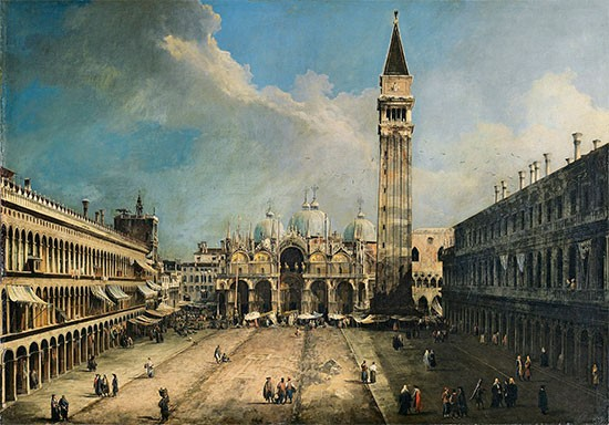 Canaletto Piazza San Marco Veduta