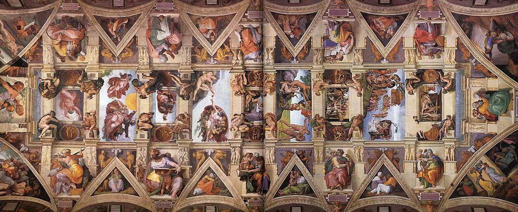 Cappela Sistina Michelangelo