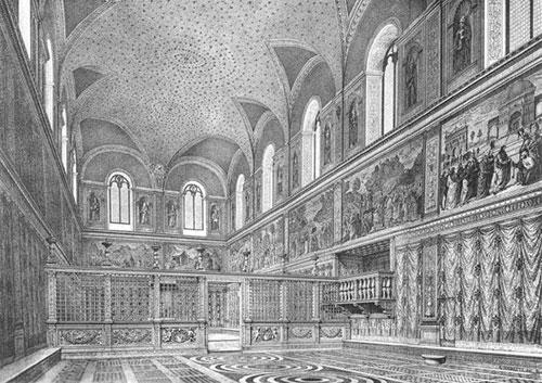 Cappella Sistina Prima Di Michelangelo