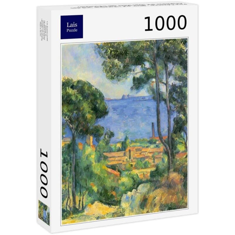 Cezanne Veduta Di Estaque E Il Castello