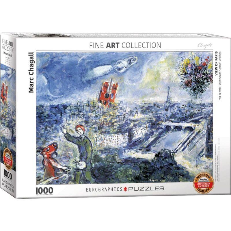 Chagall Vue De Paris
