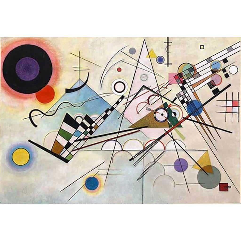 Composizione Viii Kandinsky Puzzle 1000 Pezzi Dtoys