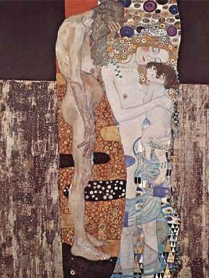 Donna Nell'arte Klimt Le Tre Età Della Donna