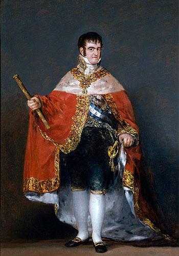 Ferdinando Vii Di Spagna Goya