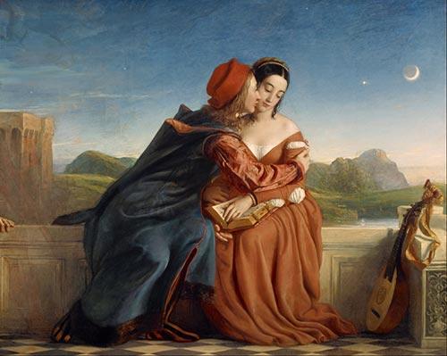 Francesca Da Rimini William Dyce Opera Arte