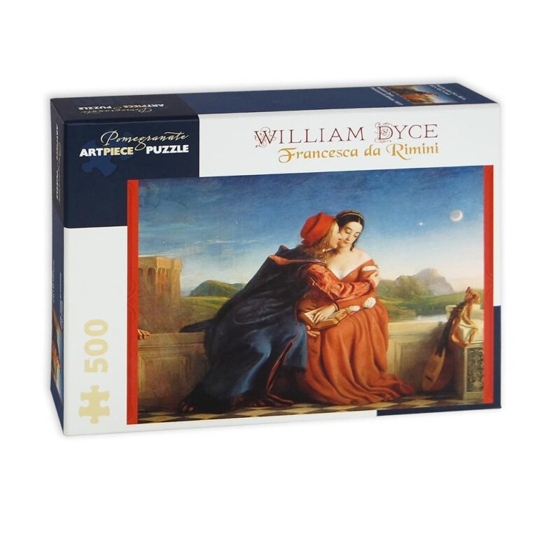 Francesca Da Rimini William Dyce Puzzle 500 Pezzi