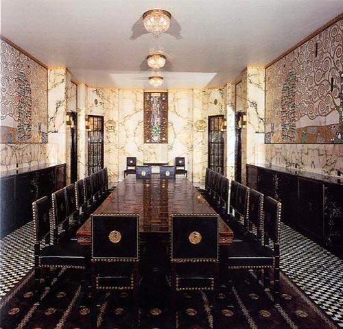 Fregio Klimt Sala Da Pranzo Stoclet