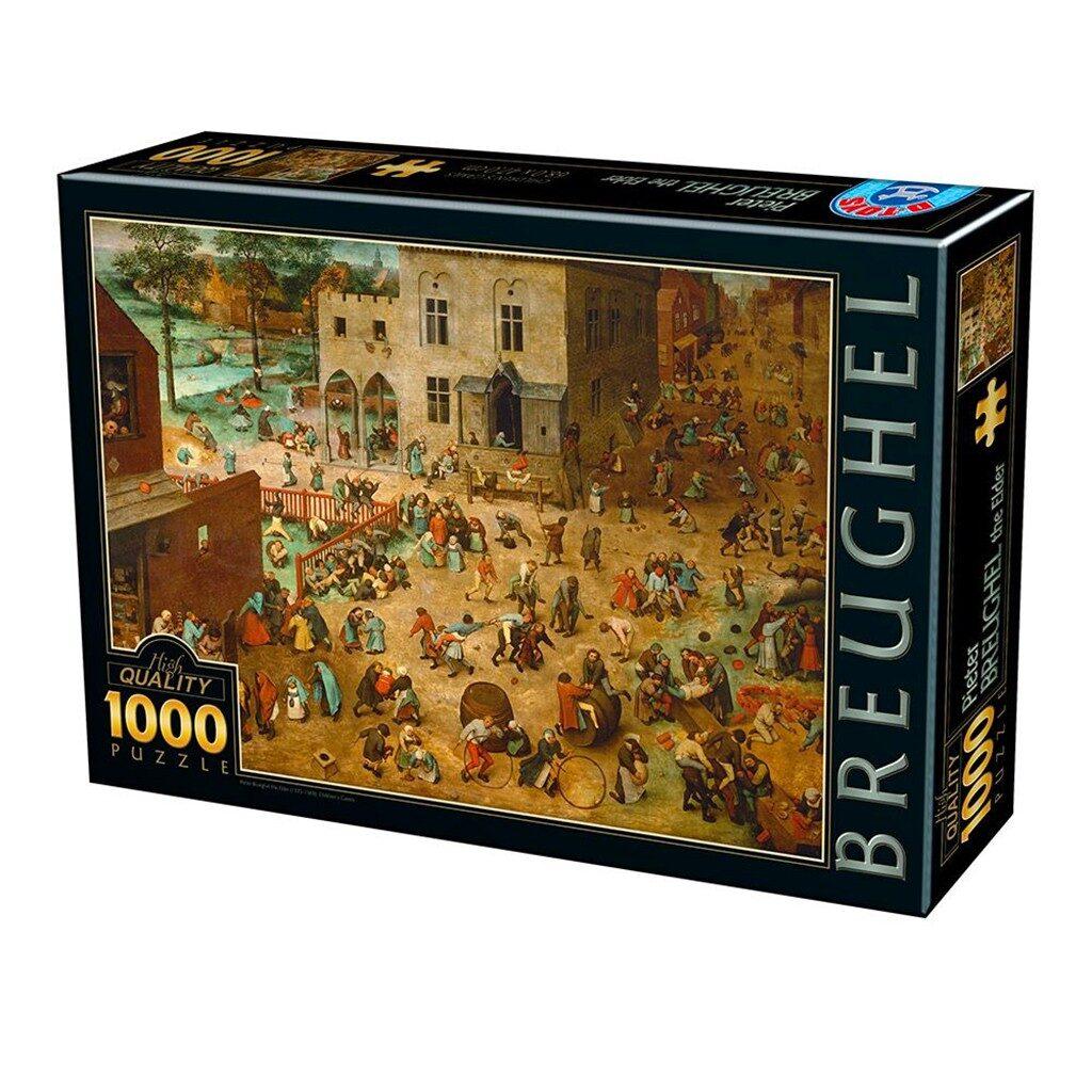 Giochi Per Bambini Puzzle 1000 Pezzi Bruegel Il Vecchio