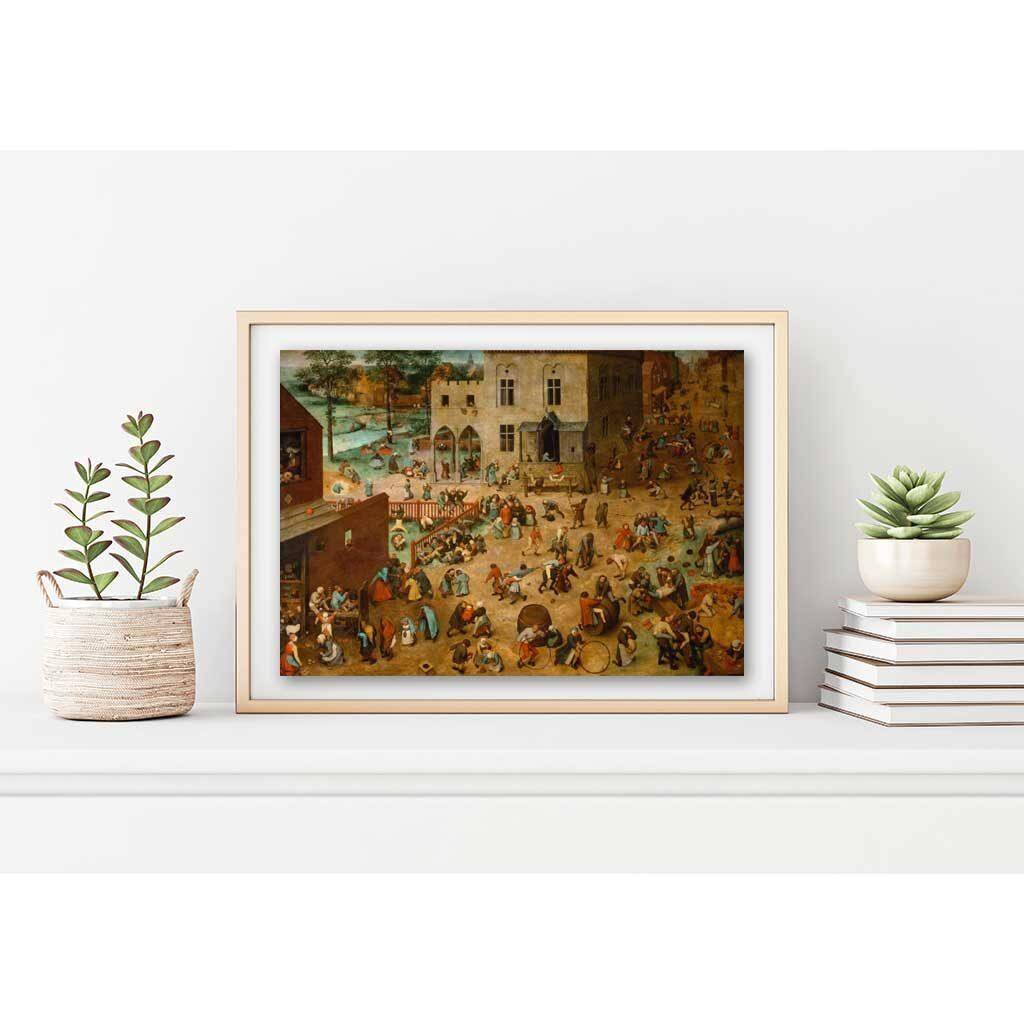 Giochi Per Bambini Puzzle 1000 Pezzi Brueghel Il Vecchio