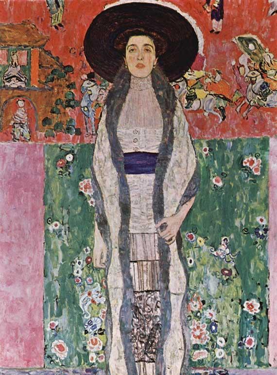 Gustav Klimt Ritratto Adele Bloch Bauer