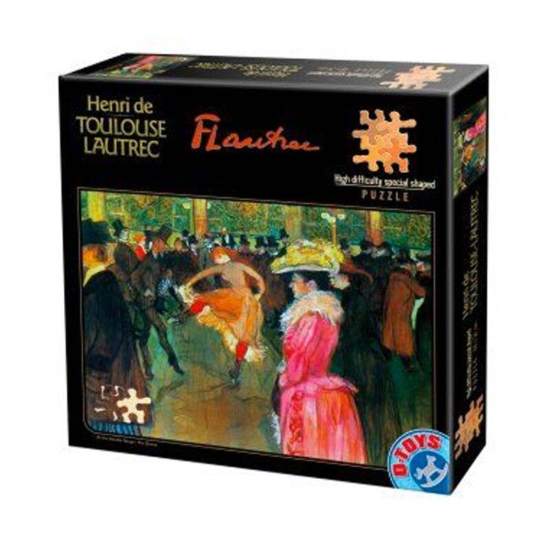 Henri De Toulouse Lautrec Ballo Al Moulin Rouge