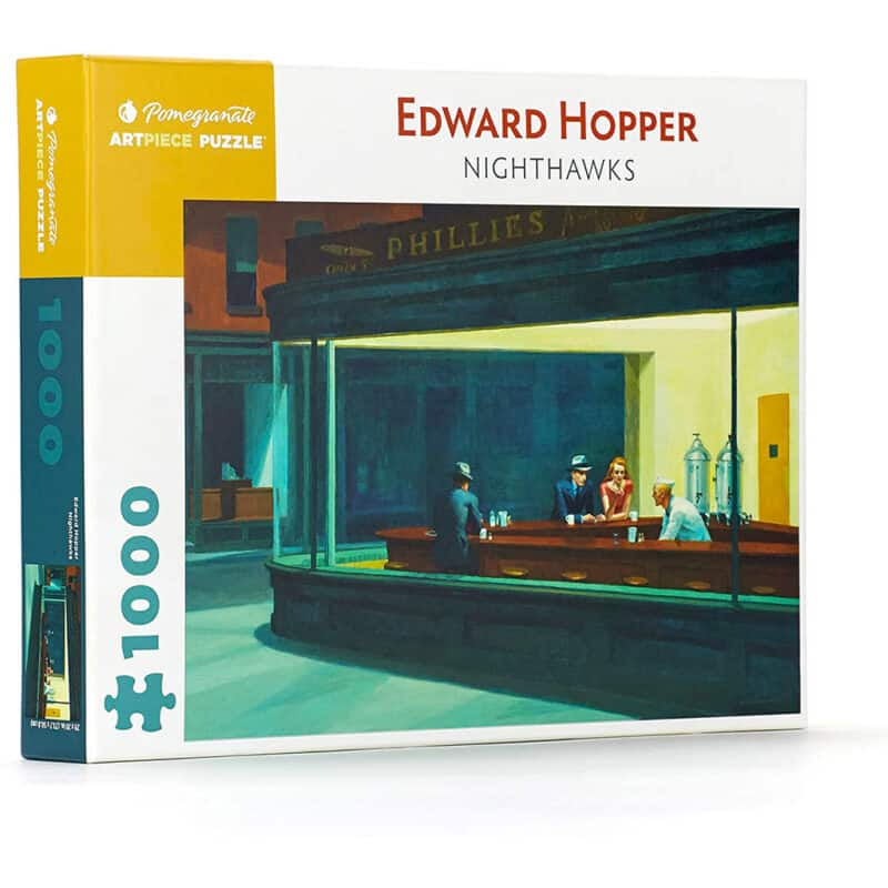 Hooper Nighthawks Puzzle 1000 Pezzi Pomegranate