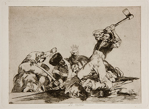 I Disastri Della Guerra Goya