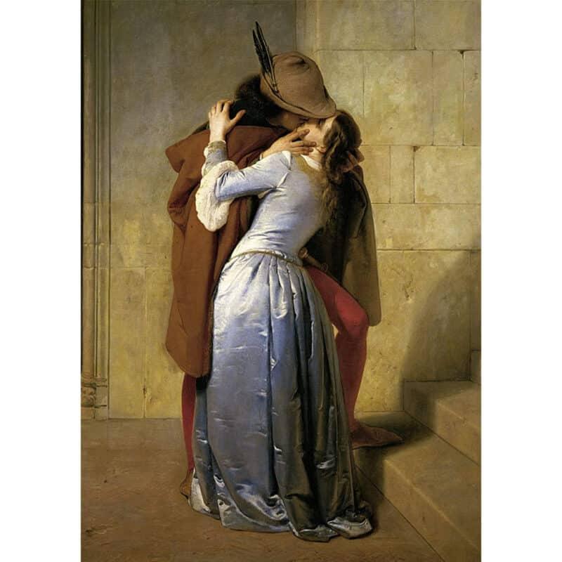 Il Bacio Di Hayez Puzzle Arte
