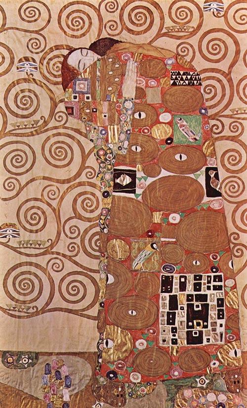 Il Compimento Abbraccio Opera Klimt
