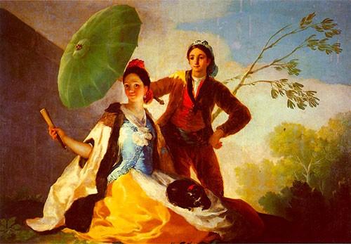 Il Parasole El Quitasol Goya