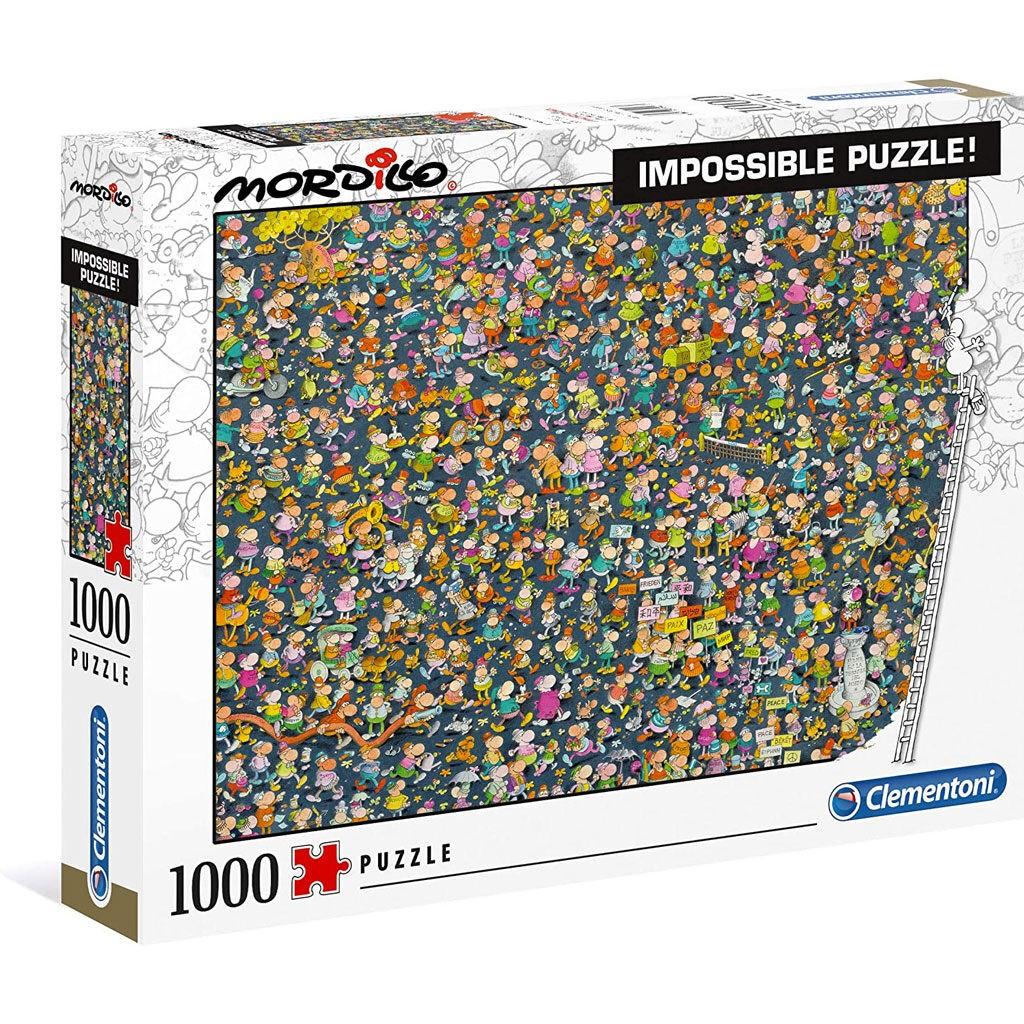 Impossible Puzzle Mordillo